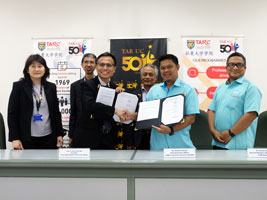TAR UC - CIDB e-Construct Sign MoU to Foster Collaboration - StudyMalaysia.com